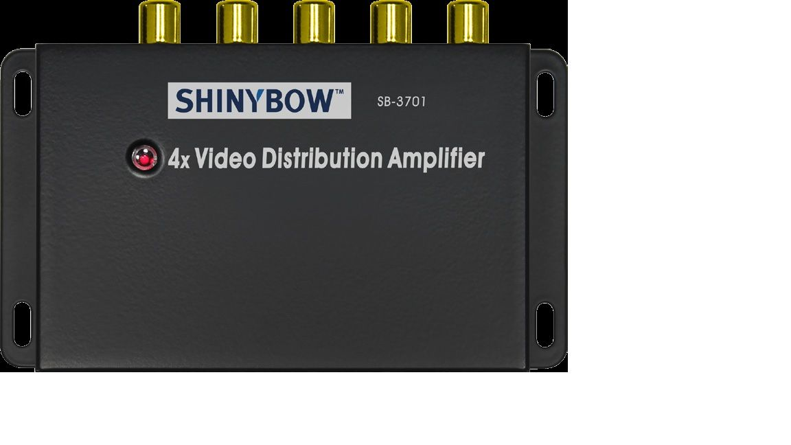 1x4 Composite Video Distribution Amplifier