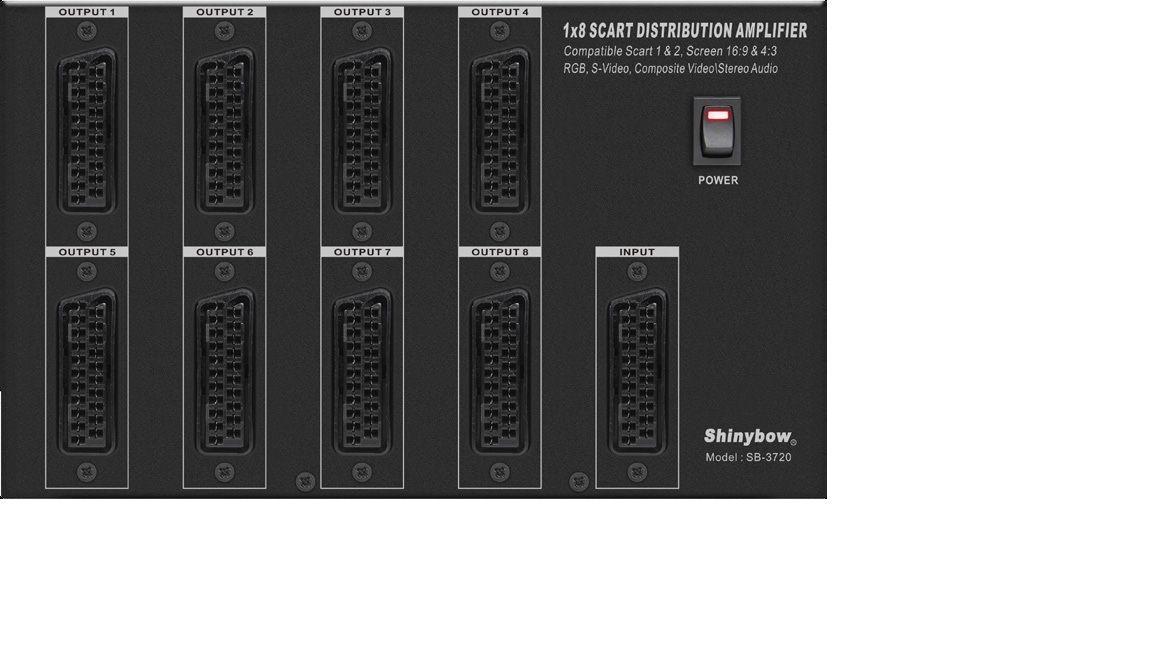 1x8 Scart Distribution Amplifier