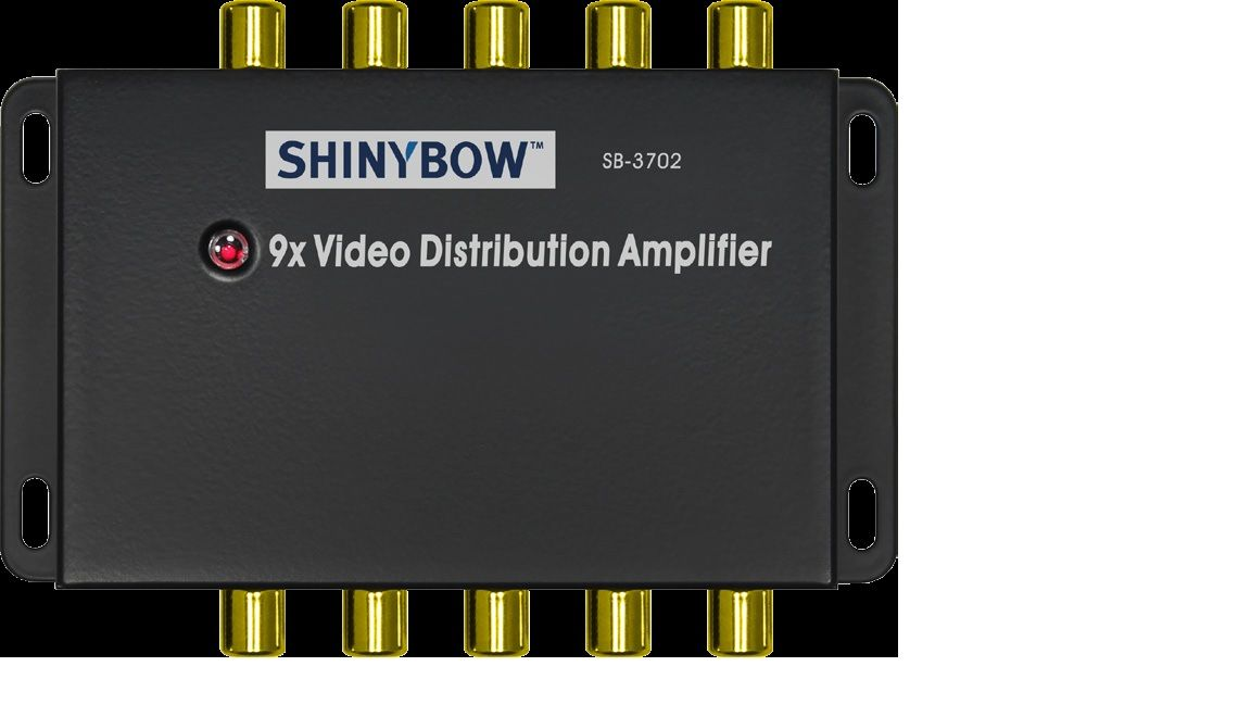 1x9 Composite Video Distribution Amplifier