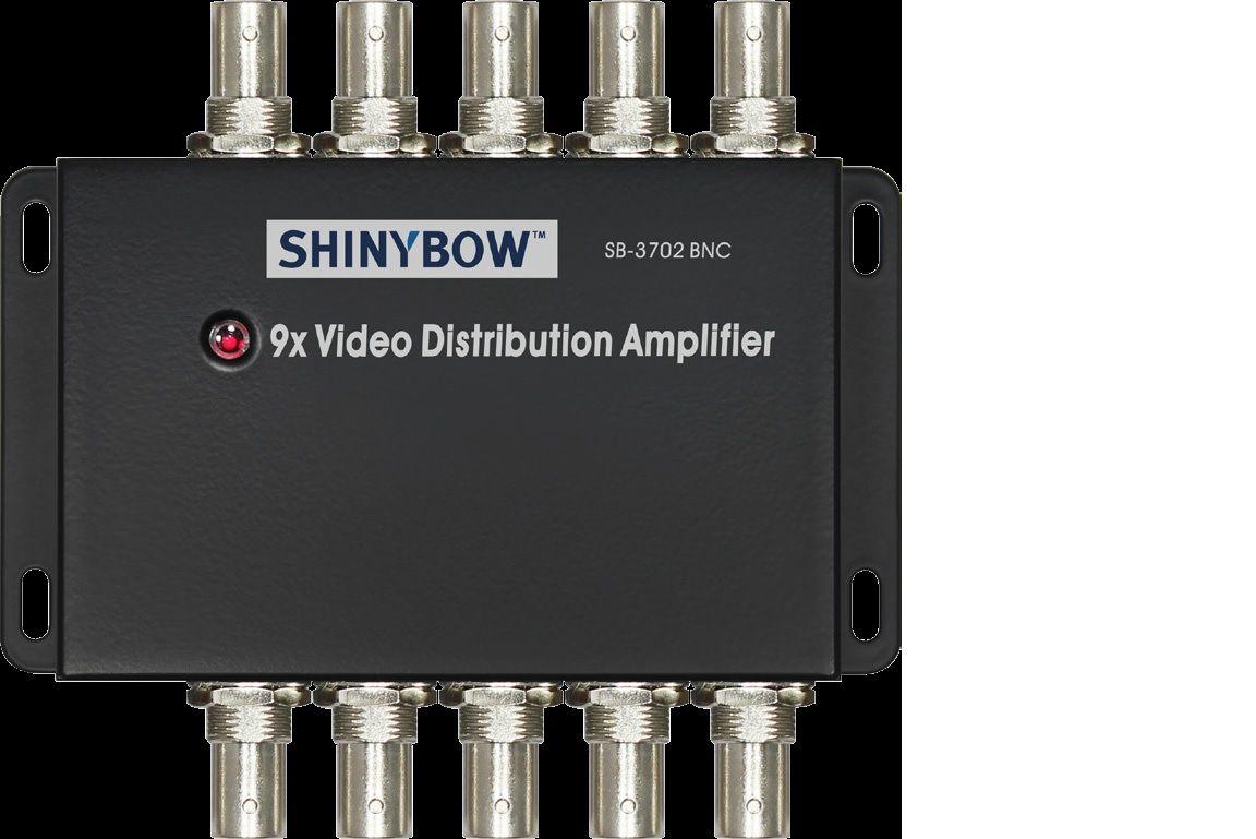 1x9 Composite Video Distribution Amplifier