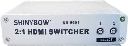 2x1 HDMI Switcher