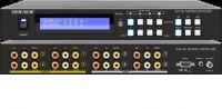4x4 AV Matrix Switcher