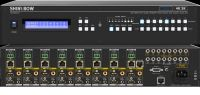 8x8 HDMI HDBaseT Matrix Switch with Auxiliary Audio (PoH)